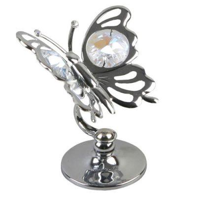 Fluturas, figurina cu cristale Swarovski