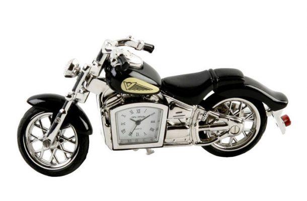 Cadou pentru motociclist, motocicleta cu ceas