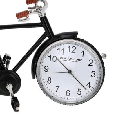 Ceas bicicleta in miniatura