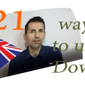 21 de situatii cand folosim Down